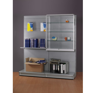 Half Height Display Cabinet for Shop Shelving