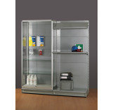 Full Height Display Cabinet for Shop Shelving