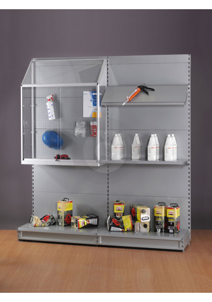 display cabinet for retail shelving