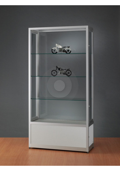 Dust Proof Display Cabinet with Storage Cupboard