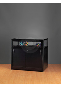 BlackCounter Display Cabinet