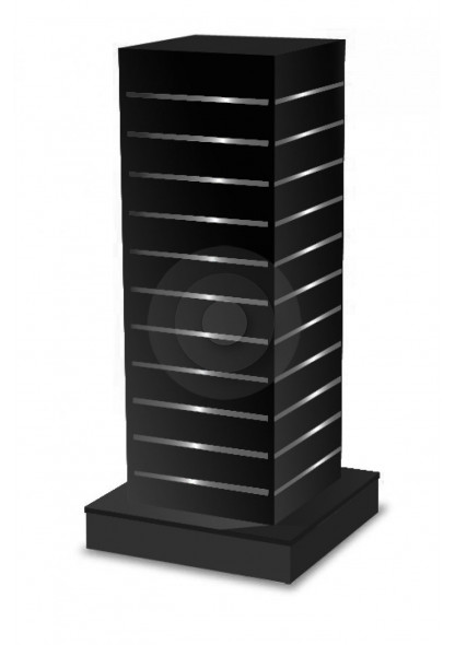 slatwall gondola tower in black