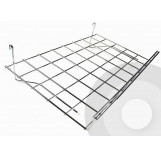 Flat Shelf with Lip for Grid System (Box of 4)