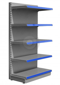 Promo End Shelving Units (Base +4) - Silver (RAL9006)