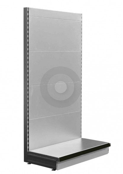 RAL9006 Silver design your own shop shelving