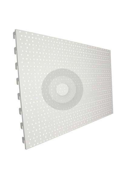 perforated back panel