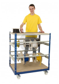 rivet racking electrical cable storage