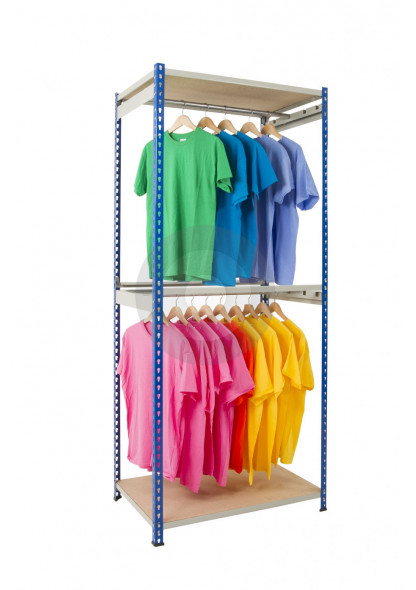 rivet racking garment rail
