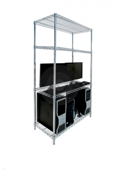 ESD wire shelving