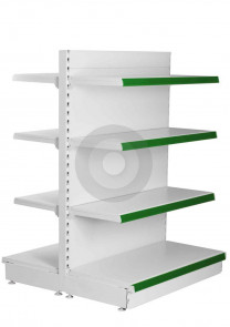 Gondola Shelving (base + 3)