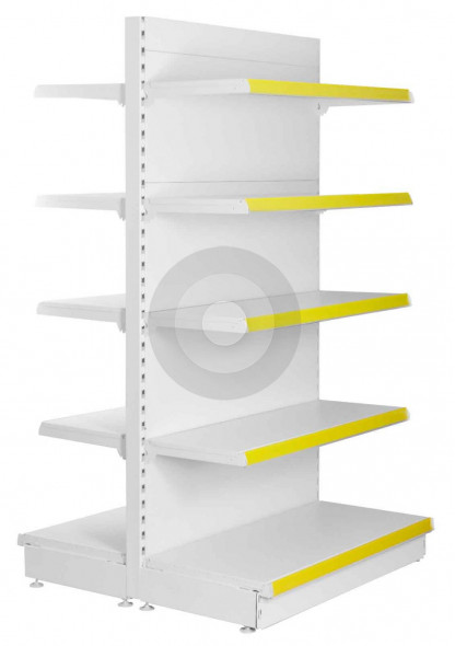 tall gondola shop shelving