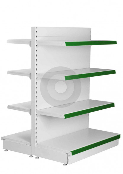 double sided shop shelving