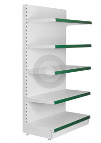wall retail shelving