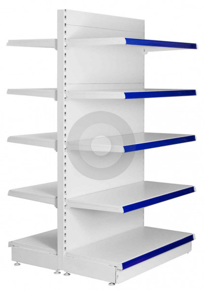 Maximum Display Gondola Shelving