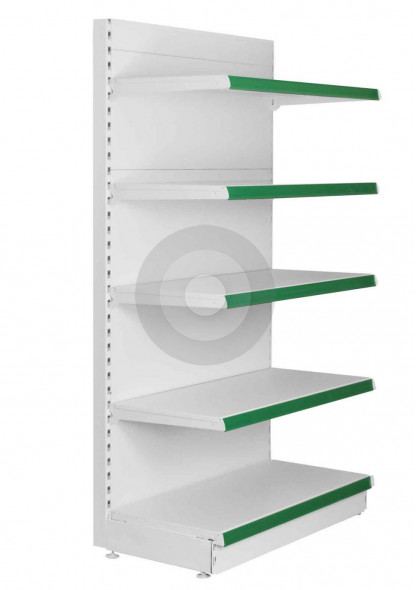 Maximum Display Shelving End Bay