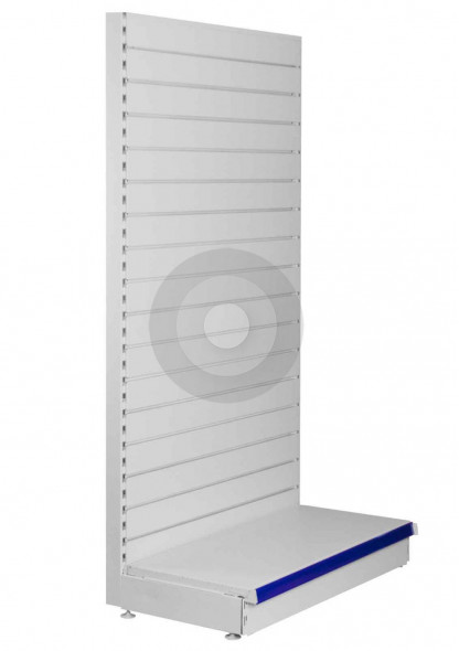 wall slatwall shelving