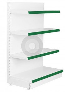 Shelving End Bay (Base +3)