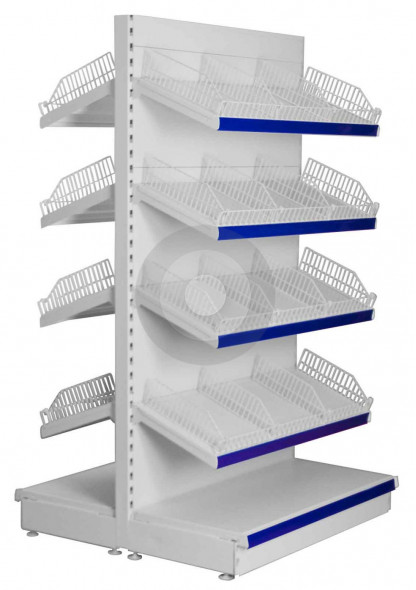 gondola shelving for small parts display