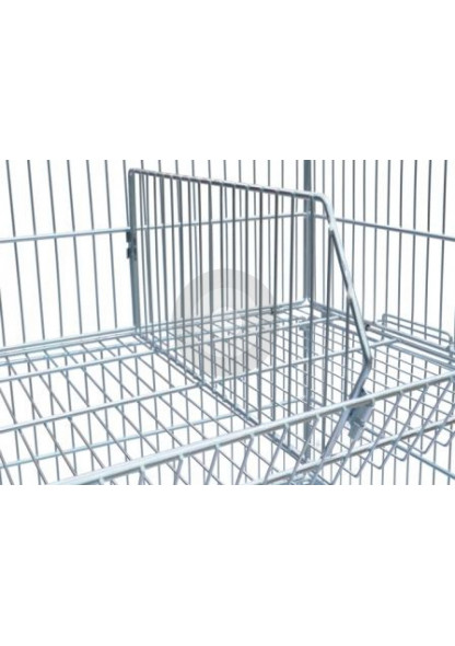 wire basket divider