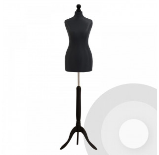 Female Tailors Dummy - Black
