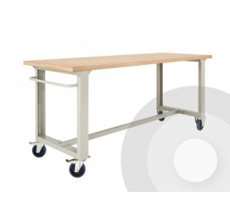 Premium Mobile Workbench with Wheels