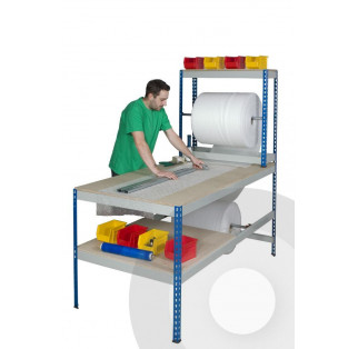 Rivet Rack Long Packing Workstation