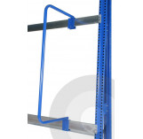 Vertical rack adjustable dividers