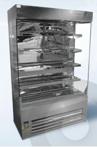 Elite slimline stainless steel multideck chiller