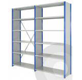 Expo 4 Boltless Shelving Side Clad