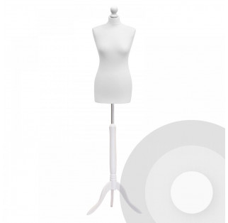 Female Tailors Dummy - White