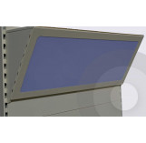 Light Up Canopy Unit Silver (RAL9006)