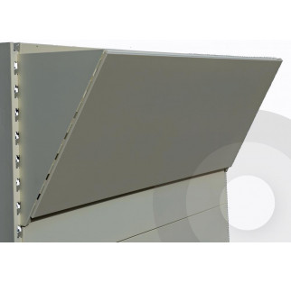 Plain Canopy Silver (RAL9006)