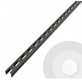 Wall Upright Silver (RAL9006) - 3 Sided U Channel