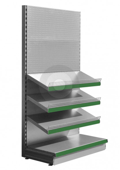 SWSF Silver stationery shelving unit