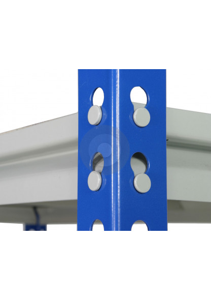 Z rivet racking upright posts