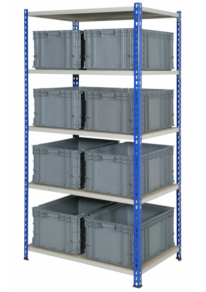 rivet racking storage unit