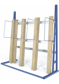 Vertical rack for builders merchants