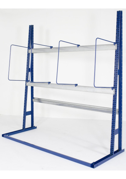 vertical racking with dividers