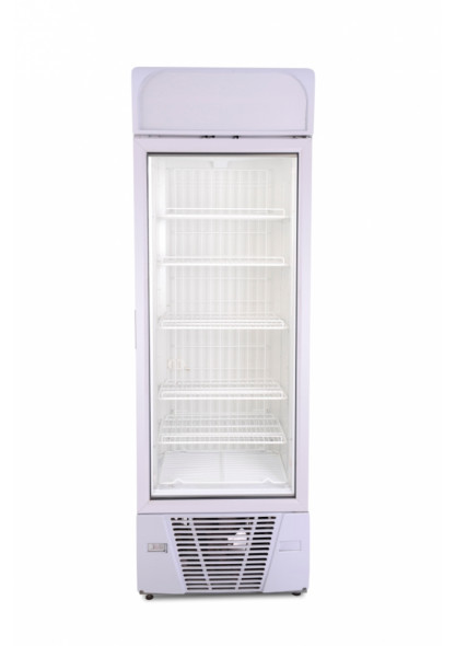 retail glass door freezer