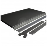 silver shop shelf kit with brackets and epos