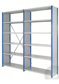 expo 4 closed end shelving