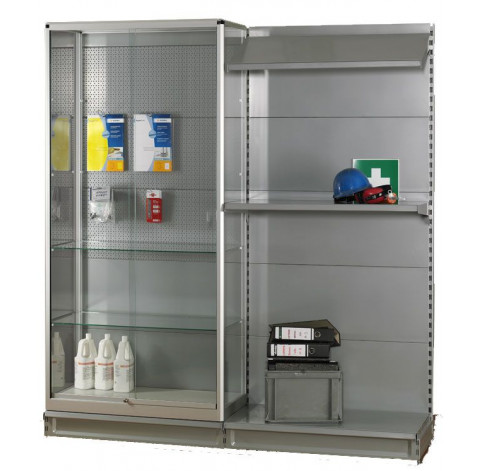 shop shelving glass display cabinet