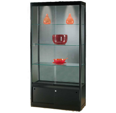Black Display Cabinet