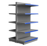 silver maximum display shelving