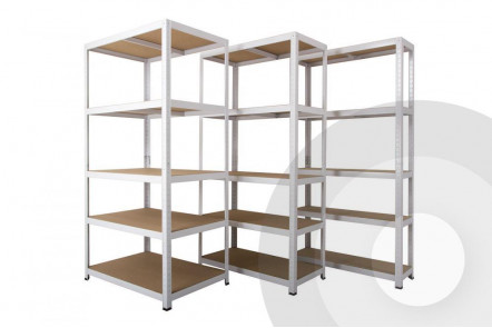 Clicka White Shelving