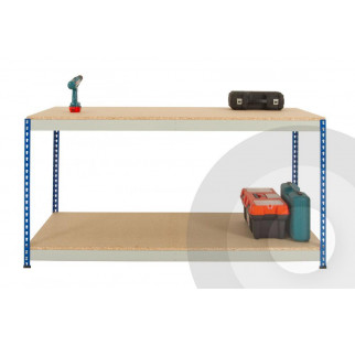 Rivet Racking Workbench Full Undershelf