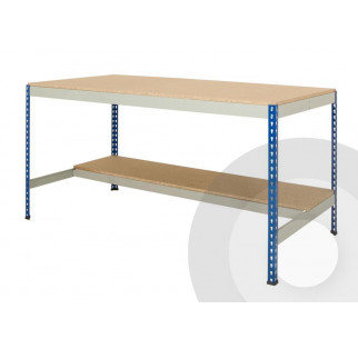 Rivet Racking Workbench Half Undershelf