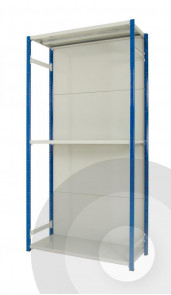 hook in back cladding panels for expo 4 shelving
