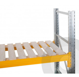 Pallet Racking Open Timber Decking