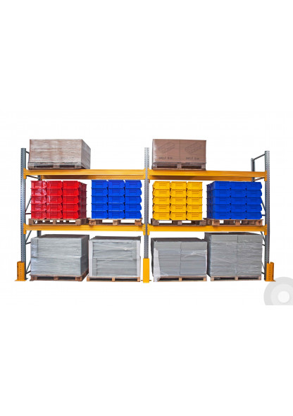 Pallet Racking Loaded